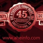 Air & Hydraulic Equipment, Inc. Celebrating 45 years