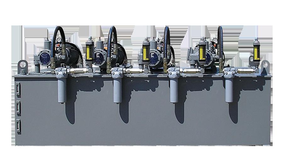1000 Gallon Hydraulic Unit with Kidney Loop
