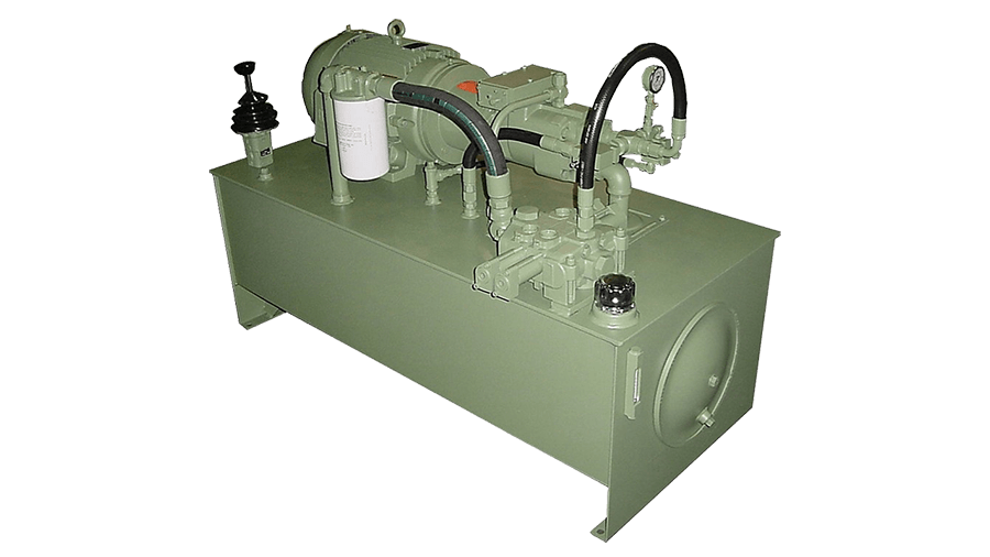 120 Gallon Hydraulic Power Unit with Joystick