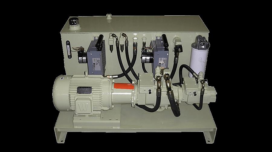 80 Gallon L-Shaped Power Unit