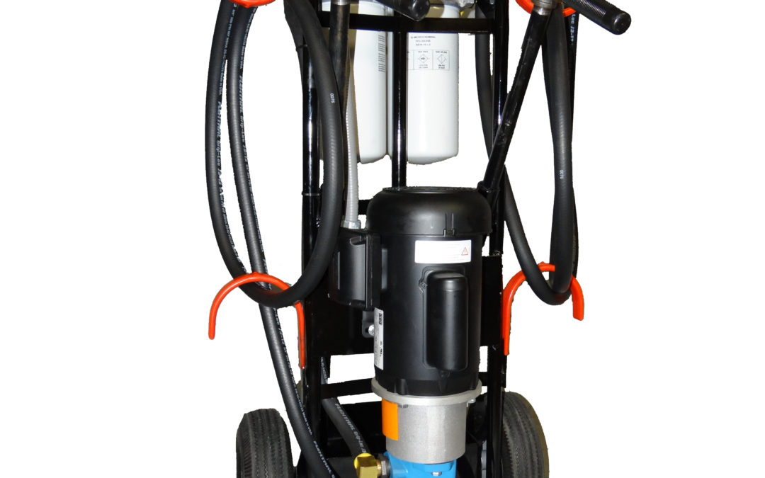 New Product: Portable Filter Cart