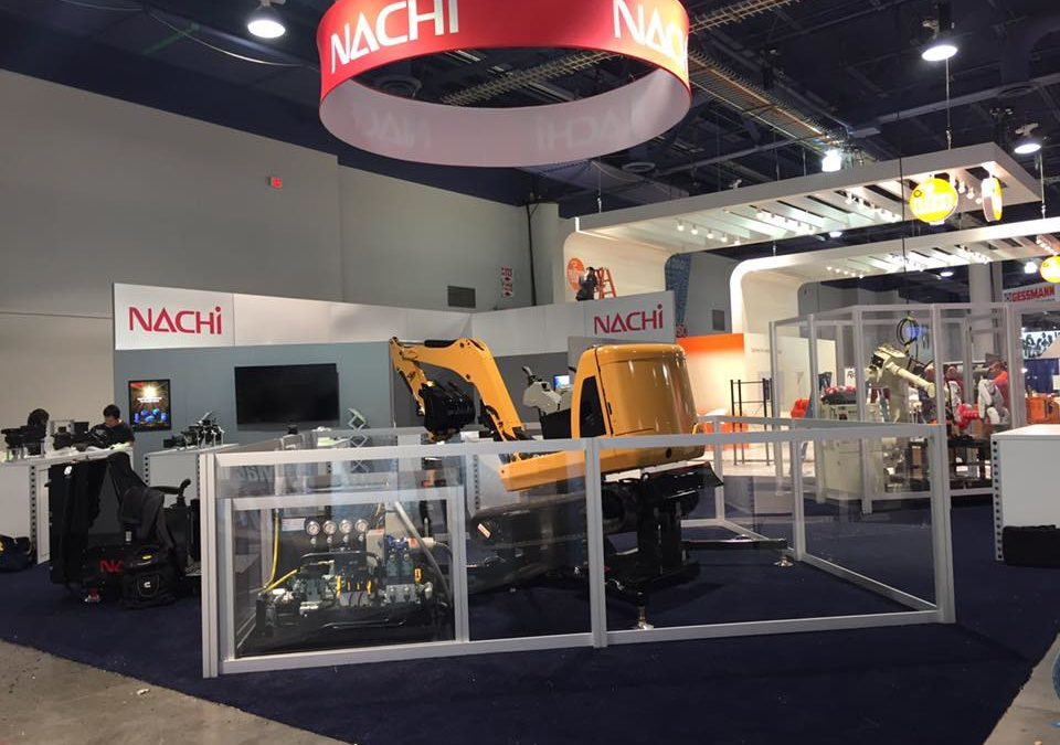 AHE helps to represent Nachi America at the 2017 IFPE