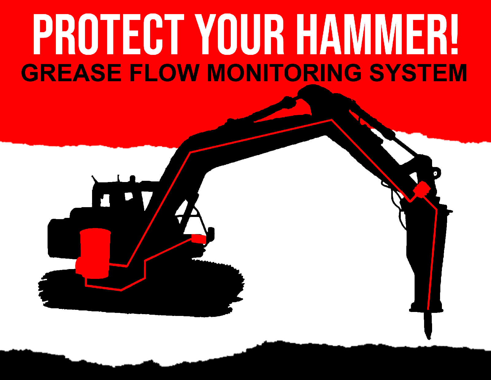 Lincoln Protect Your Hammer - Grease Flow Monitoring System